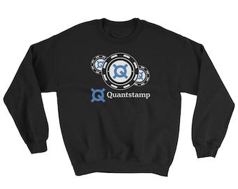 Quantstamp Sweatshirt // Trendy Quantstamp Logo Sweater // Security Protocol Sweater // Smart Contract Sweatshirt // Blockchain Sweater