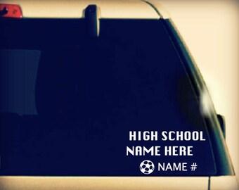 Custom Soccer Mom Decal, Soccer Mom Car Decal, Soccer Mom Sticker, Soccer Mom vinyl car sticker, Soccer Mom Vinyl, Soccer Mom vinyl cardecal