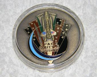 Nasa  Space Shuttle Program Medallion