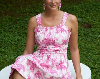 Sis Boom Jamie Dress with Scientific Seamstress Pattern and Instructions, PDF E-Book