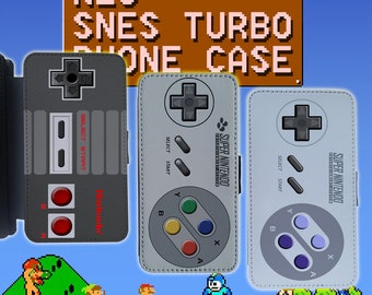 Super Nes Snes turbo Nintendo Controller Video game console Mario Grey Red Blue Green for LG G4 LG G5 Flip Wallet Phone Case