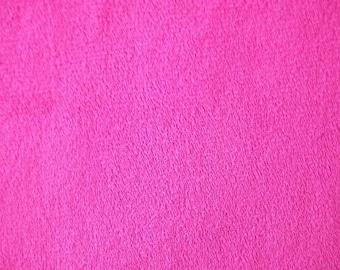 Minky Smooth Fuchsia Fabric