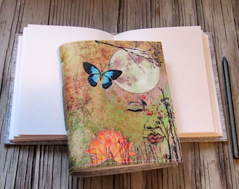 Peaceful Moments 01 journal -  peace dream life meditation  gratitude journal - tremundo
