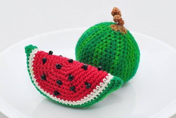 Amigurumi Pattern. 35 Crochet Play Food Patterns. Crochet