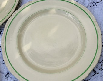 For the Irish in All of Us:Set of 6 Erin Pattern Van Dyk Ware Alfred Meakin England Dinner Plates