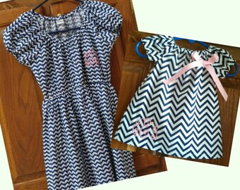Monogrammed Mommy & Me Dresses, Mommy and Me Christmas Dresses, Mother Daughter Dresses, Mother Daughter Christmas Dresses
