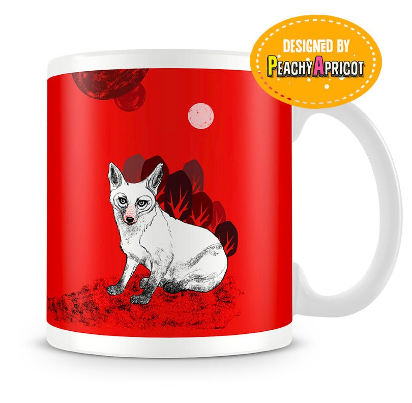 Lonely Red Fox - Mug - Woodlands - For Fox Sake - Fox Mug - Fox Gifts - Funny Gift - Birthday Gift - Coworker Gift - Office - Red Fox