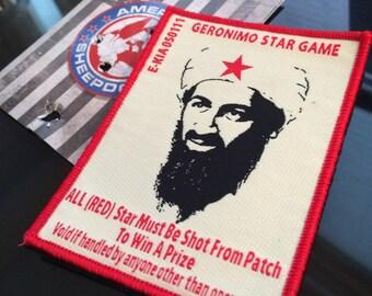 Geronimo EKIA Shoot the Star Morale Patch Navy SEAL Edition