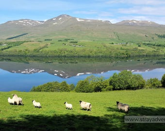 Loch Tay Scotland jpg Digital Download