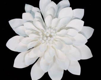 Large Paper Flower Wedding Decoration. White