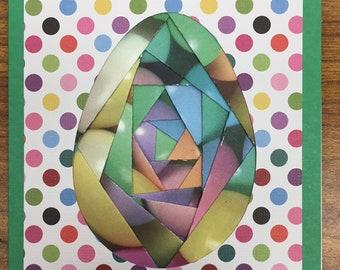 Easter Egg Jelly bean Card