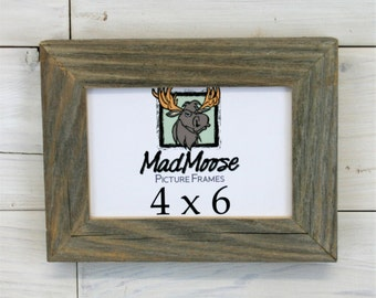"4x6 Barn Wood [Chunky x 1.25""] Picture Frame"
