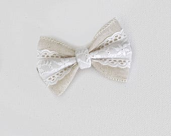 Vintage harper lace bow