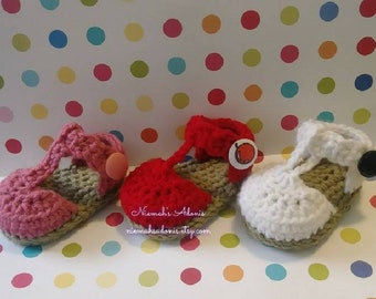 Baby shoes/ Baby Booties/ Crib shoes/ Baby Sandals