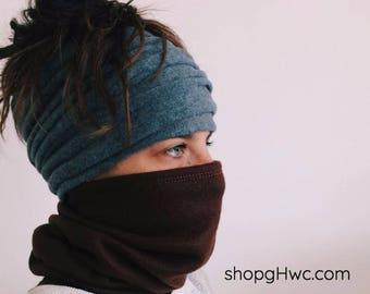 Fleece Face Mask / Headband / Neck Gaiter / Fleece Headband, Cycling Mask, Outdoor, Fleece Mask, Warmer, Sport Headband, Yoga Headband, Mask