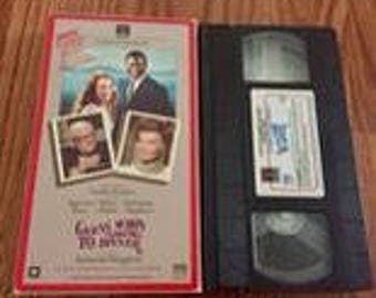Guess Who's Coming to Dinner VHS Movie. Original Film Columbia Pictures Video Tape