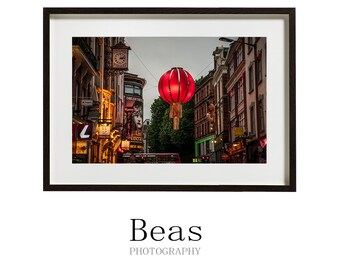 Chinatown, London, urban photography, color photography, gift art