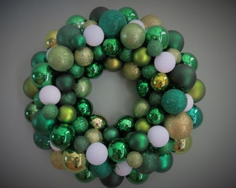 GOLF Ornament Wreath- GOLF DECOR for Home Clubhouse or Office