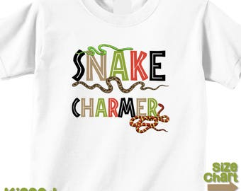 Snake Charmer Snakes Nature Ourdoor Explore Birthday Party Shirt Nature Walks Snake Zoo Party Shirt Infant Kids Adult Snake Shirt