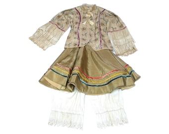 Antique Italian Theatre Costume - Antique Kid Costume - 1920s, 20s