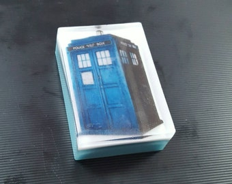 Dr Who TARDIS Soap