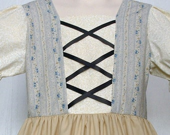 Girls  Peasant Dress ,Swiss Miss, Heidi, Maria von Trapp Dirndl ,Sound of Music. Ready to Ship
