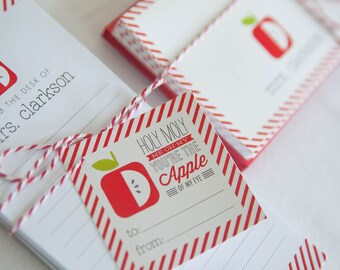 Teacher Gifts - Personalized - Printable