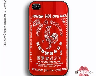 Sriracha Hot Sauce - iPhone 4/4S 5/5S/5C/6/6+ and now iPhone 7 cases!! And Samsung Galaxy S3/S4/S5/S6/S7