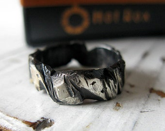 Mens Wedding Band Carved Mens Wedding Ring Unique Mens Wedding Band Viking Wedding Ring Mens Wedding Bands Rustic Mens Wedding Band Viking
