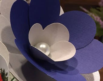 Add on White Pearl for paper flowers!
