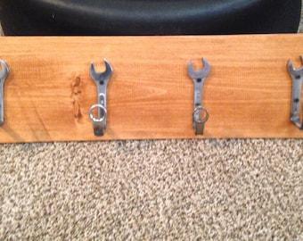 Wrench Coat or Towel Rack