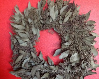 Real Eucalyptus Wreath by Denise's Creations