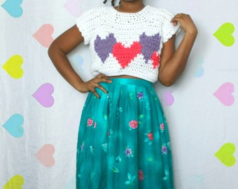 The Charmed One Graphic Crochet Top Pattern. Instant Download!