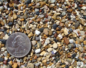 Sea sand for crafting-Jewelry supply-pebble Art-Sand bag-craft supply-garden decoration