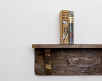 LIOVEIZlA - Handmade Reclaimed Wood Shelf. Custom Made To Order