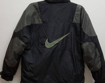 NIKE ACG Hidded Hooded Parka Jacket All Conditions Gear Big Logo