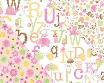 Sweet Baby Girl Fabric Bundle - Riley Blake