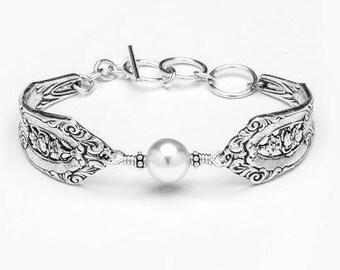 """Spoon Bracelet: """"Empire"""" by Silver Spoon Jewelry"""