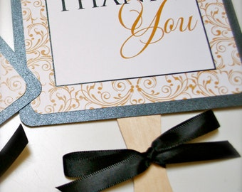 Wedding thank you signs