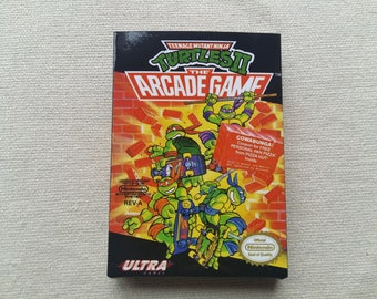 NES Turtles Arcade Game Replacement Box Universal Video Game Case High Quality