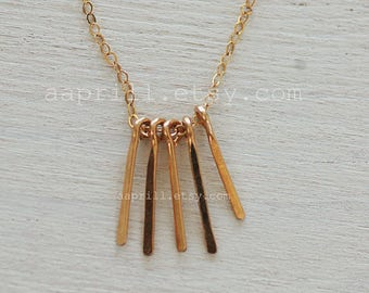 Bar necklace,Tiny paddle bar necklace,layered and long, Dainty necklace, GOLD necklace,silver paddle bars necklace, Everyday necklace