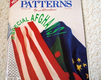 Crochet Patterns by Herrschners, May/June 1991, Vol 5 No 3
