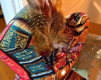 Books Hat/Fascinator