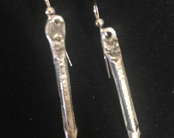 Handforged Arrow Earrings