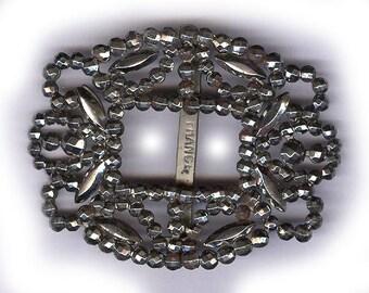 Boucle acier ORNÉ de coupe de france tourbillons fantaisie boucle boucle en acier vieilli réaffecter mariée trouver patine
