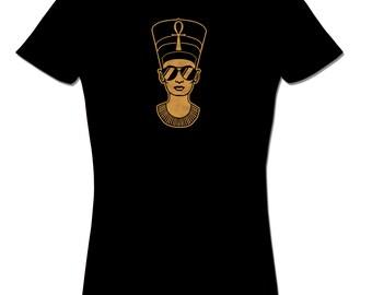 Nefertiti  Plus Sizes Afrocentric Clothing African Clothing Egypt Shirt Cool T shirt Egyptian African Queen Hipster T shirt african clothing
