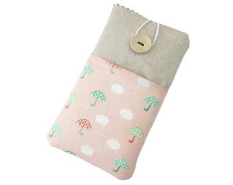 iphone 6 Cover, iphone 7 Cover , iPhone 7 Sleeve, iPhone 8 Cover, Fabric case iPhone, Samsung Galaxy Cover,