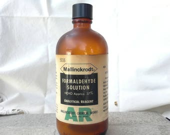 Antique mallinckrodt Pharmaceutical Medicinal BottleVery Rare Vintage Antique, Pharmacy Bottle, APOTHECARY PHARMAC