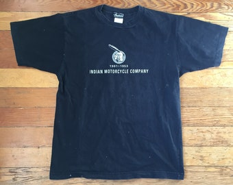 1990's Indian Motorcycle Shirt T Shirt