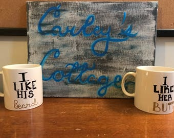His and Hers Mugs